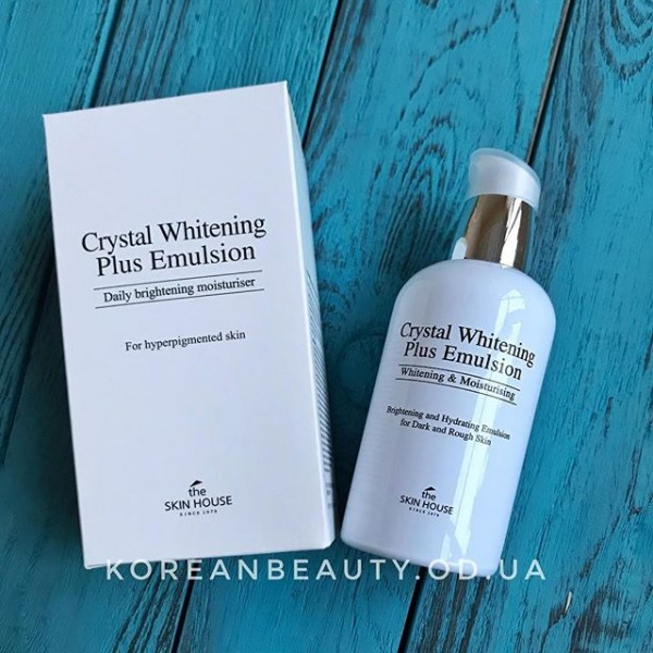 THE SKIN HOUSE Crystal Whitening Plus Emulsion