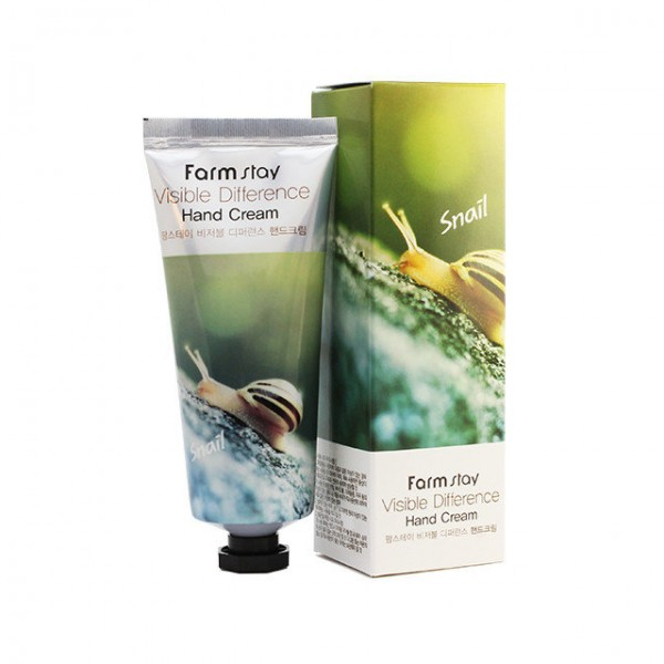 Farm Stay Visible Difference Snail Hand Cream