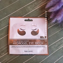 BeauuGreen Sea Cucumber & Black Hydrogel Eye Patch