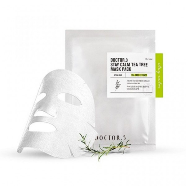 Doctor.3 Stay Calm Tea Tree Mask Pack
