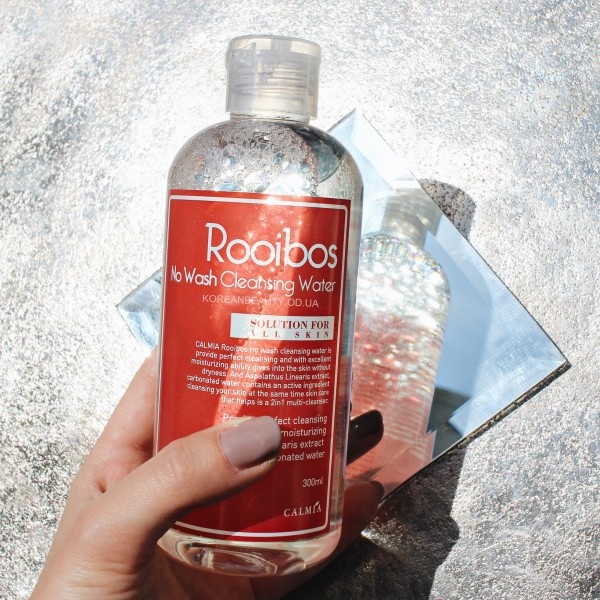Calmia rooibos no wash cleansing water