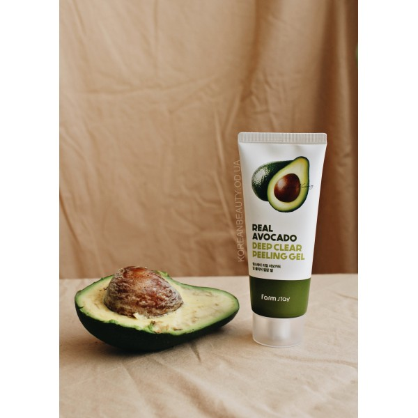 FARM STAY Real Deep Clear Avocado Peeling Gel