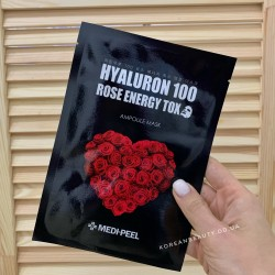 Medi-peel Hyaluron 100 Rose Energy Tox Mask