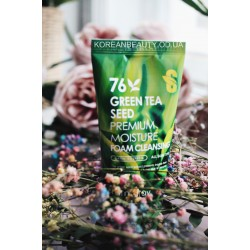 Farm stay green tea seed premium moisture foam cleansing