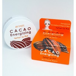 PETITFEE CACAO ENERGIZING HYDROGEL EYE MASK