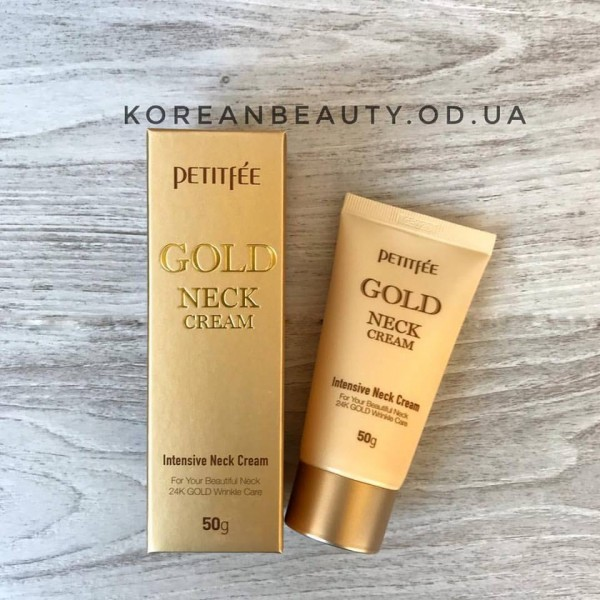 Petitfee gold neck cream