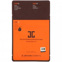 Jayjun 3 Step Real Water Brightening Black Mask