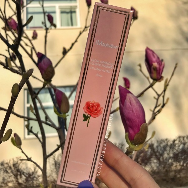 JM Solution Glow Luminous Flower Firming Eye Cream All Face Rose