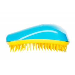 Dessata Hair Brush Original Turquoise Yellow