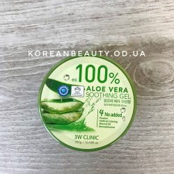 3w clinic aloe vera soothing gel