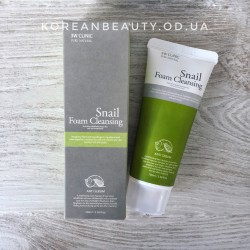 3w clinic snail cleansing foam