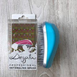 Dessata Hair Brush Original Turquoise Silver