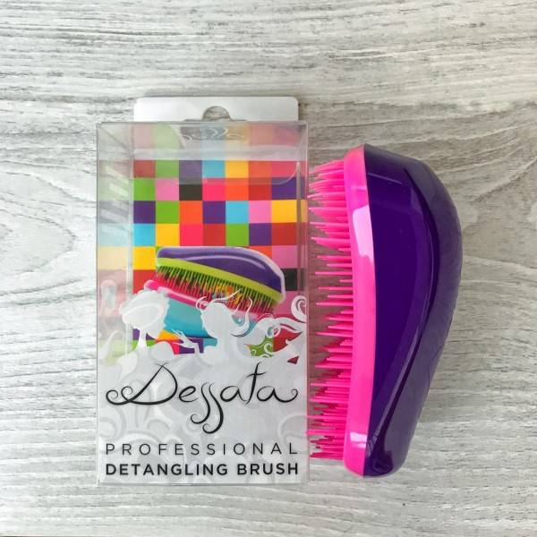 Dessata Hair Brush Original Purple Fuchsia