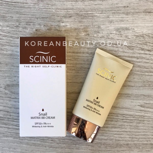 Scinic Snail Matrix BB Cream