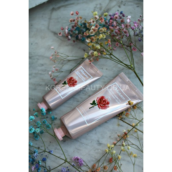 JM solution Glow Luminous Flower Hand Cream Rose