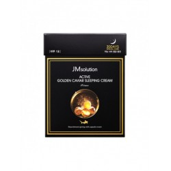 JM SOLUTION ACTIVE GOLDEN CAVIAR SLEEPING CREAM PRIME