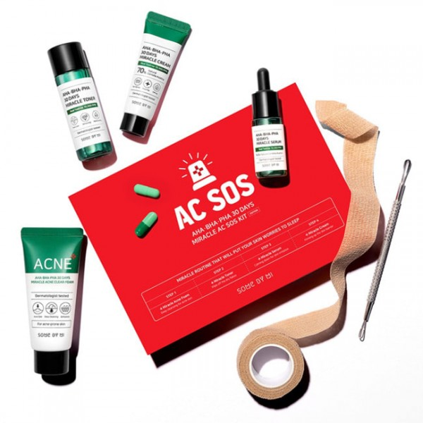 SOME BY MI AHA-BHA-PHA 30 Days Miracle AC SOS Kit