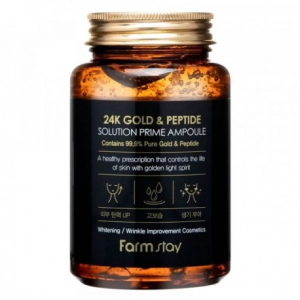 Farm stay 24k Gold & Peptide Prime Ampoule