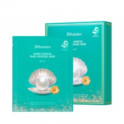 JM solution Marine Luminous Pearl Hydrogel Mask