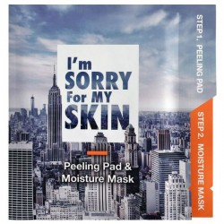 I'M SORRY FOR MY SKIN PEELING PAD & MOISTURE MASK