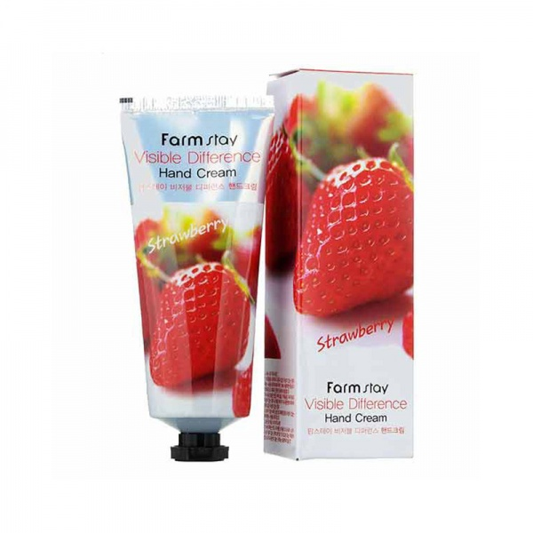 FARM STAY VISIBLE DIFFERENCE STRAWBERRY HAND CREAM