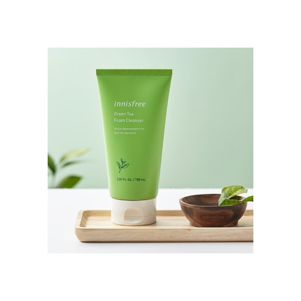 INNISFREE GREEN TEA CLEANING FOAM